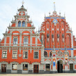 Stock Photo: The Blackheads House in Riga