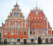 The Blackheads House in Riga — Stock Photo