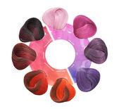Hair Colors Set. Tints — Stock Photo