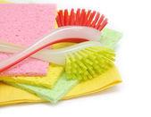 食器洗いブラシ — ストック写真