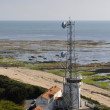 Telecom Antenna Along the Atlantic Coast — Stock Photo