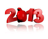 Boxing 2013 design — Foto de Stock