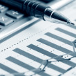 Financial graphs analysis — Stock Photo #11391863