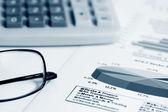 Rachunkowości — Zdjęcie stockowe