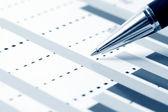 Analisi di grafici finanziari — Foto Stock