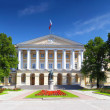 Beautiful architecture Smolny Palace St. Petersburg. — Stock Photo
