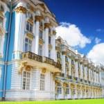 Katherine's Palace hall in Tsarskoe Selo (Pushkin). — Stock Photo