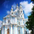 St. Petersburg. Smolny Cathedral (Church of the Resurrection) — Stock Photo #11640350