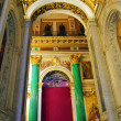 Saint Isaac's Cathedral in St Petersburg, Russia, interior - Stock Photo