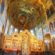 Interior of the Church of the Savior on Spilled Blood in St. Pet — Stock Photo #11640512