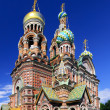 Church of the Saviour on Spilled Blood, St. Petersburg, Russia — Stock Photo