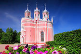 John the Baptist birth (Chesmen) church. Saint-Petersburg — Stock Photo