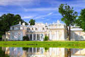 Chinese Palace in Oranienbaum (Lomonosov)park. Saint Petersburg. — Stock Photo
