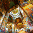 Stock Photo: Interior of Church of Savior on Spilled Blood in St. Pet