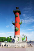 Rostral Column in Saint Petersburg in Russia. — Stock Photo