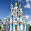 St. Petersburg. Smolny Cathedral (Church of the Resurrection) — Stock Photo #11975237