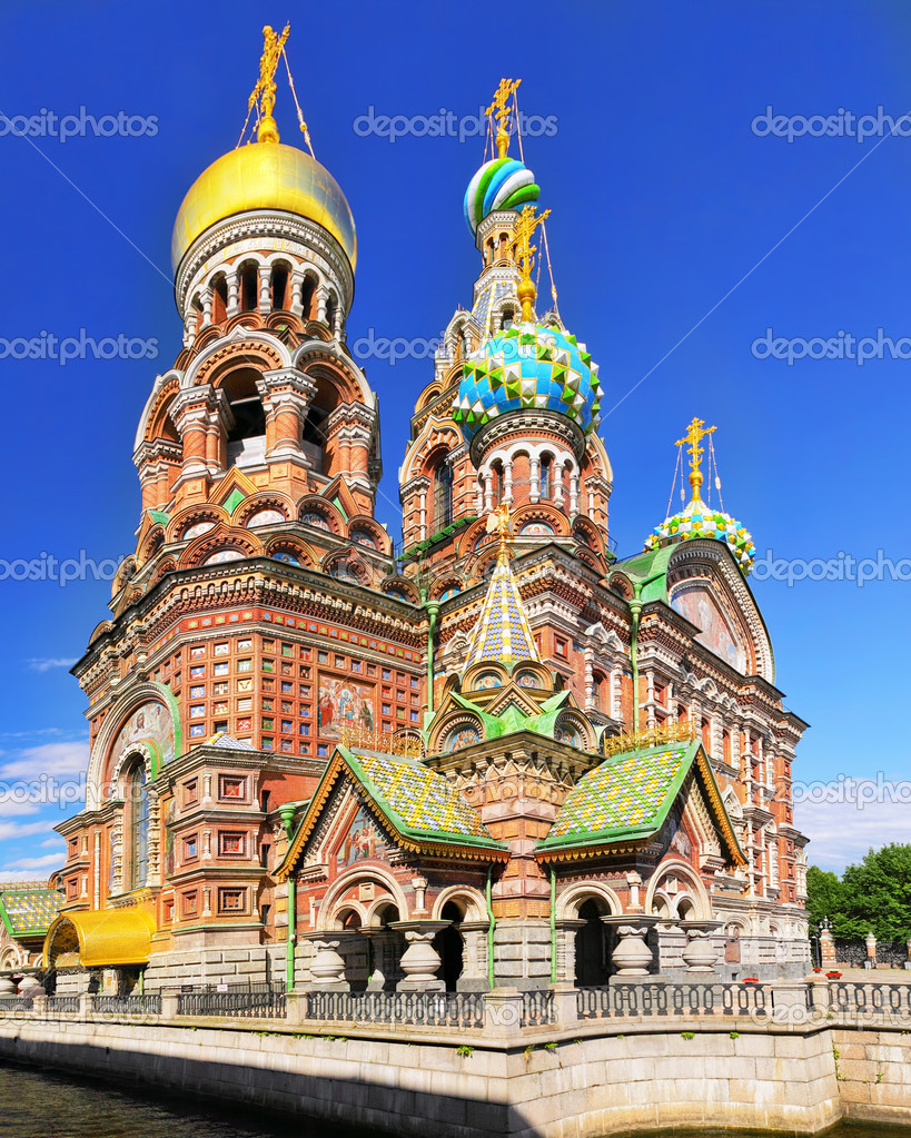 Church of the Saviour on Spilled Blood, St. Petersburg, Russia  Stock Photo #11974963