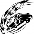 Stockvektor : Race car - vector illustration