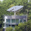 Solar House in Freiburg — Stock Photo