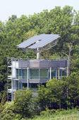 Solar House in Freiburg — Stock Photo