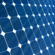 Solar Panel with sunshine - Stock Photo
