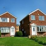 Modern english brick house — Stock Photo #10788524