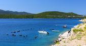 Bei colori della costa adriatica — Foto Stock