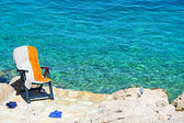 Adriatic beach in Croatia — Stock Photo