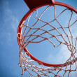 Basket for basketbal - Stock Photo