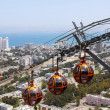 Cable car in Haifa - Stock Photo