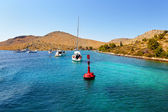 Mar adriático da croácia — Foto Stock