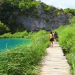 Boardwalk in Plitvice — Stock Photo #11218648