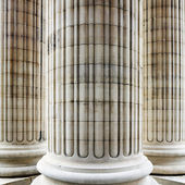 Columns in Paris — 图库照片