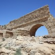 Stock Photo: Ancient Romaqueduct