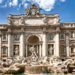 Fountain di Trevi in Rome — Stock Photo