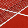 Tennis net and lines — Stock Photo #11824821