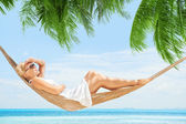 Tropic swing — Stock Photo