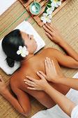 массаж — Стоковое фото