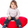 Cute 2 years old boy — Stock Photo #11392438