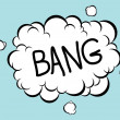 Bang Comic - Stock Vector