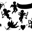 Cupids collection — Image vectorielle
