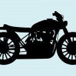 Classic Motorcycle — Stock Vector #11987107