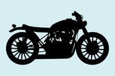Moto classique — Vecteur