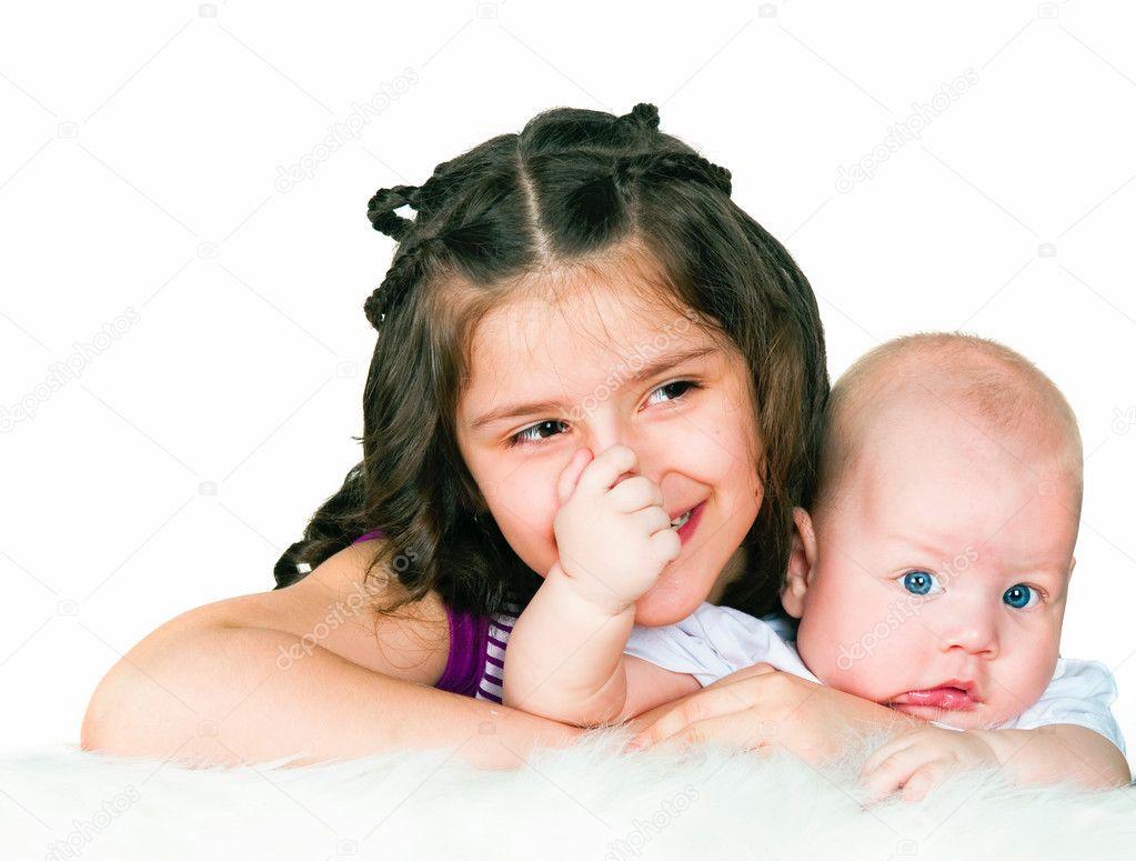 Старша сестра с братом 16 фотография