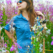 Royalty-Free Stock Photo: The girl on a meadow