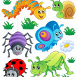 Cute bugs collection 1 — Stock Vector #11550500