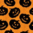 ストックベクタ: Halloween seamless background 1