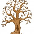 Tree theme drawing 2 - Stock Vector