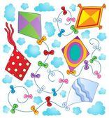 Kites theme image 1 — Stock Vector