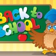 Stock Vector: Back to school thematic image 3